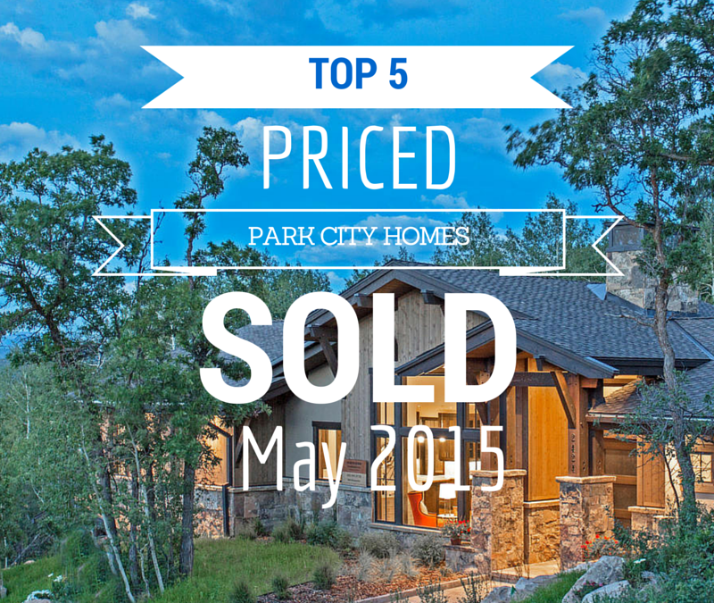 Top 5 Priced Park City Homes that Sold in June 2015