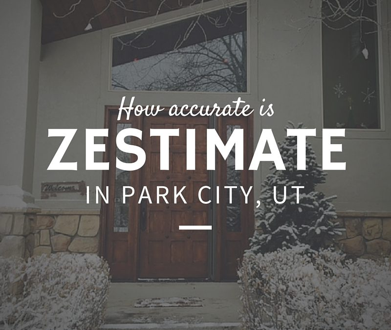 How accurate is Zestimate in Park City, UT?