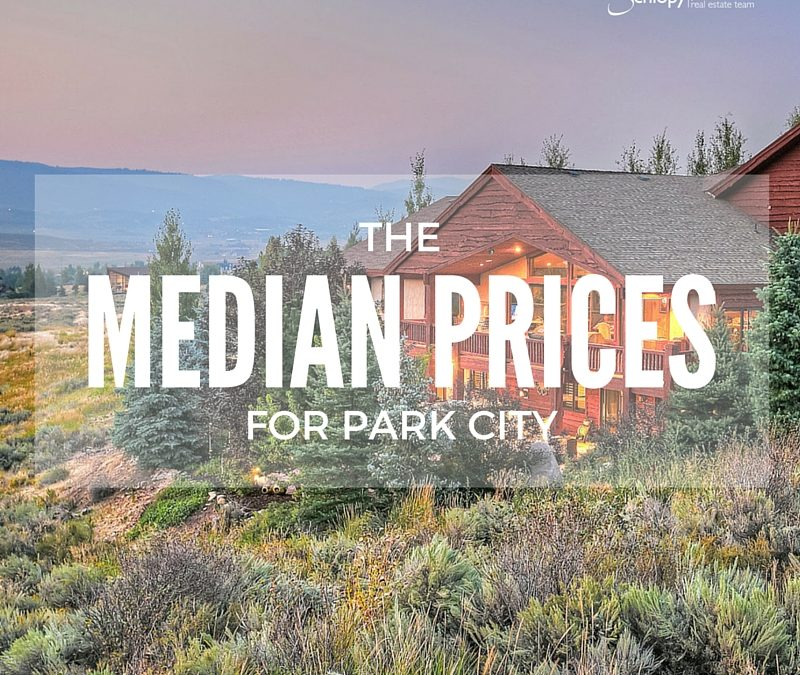 Median Prices for the Park City Area