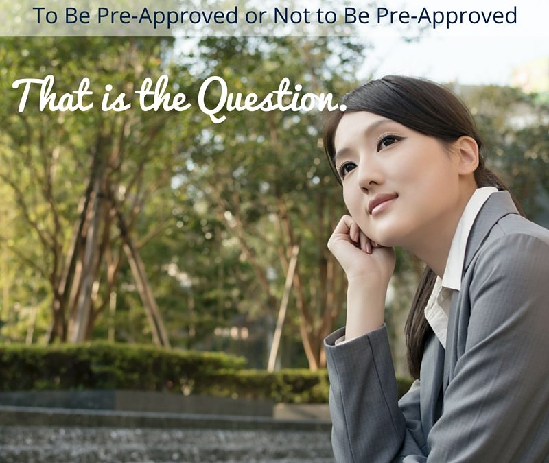 Do I need pre-approval?